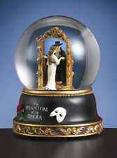 San Francisco Music Box Phantom of the Opera Christine Mirror Scene Water Globe