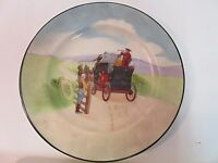 "RARE Royal Doulton Horse Buggy Plate 1904-1922 6"" Vintage Perfect Condition"