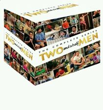 Two and a Half Men The Complete Series Season 1-12 DVD Gift Box Set | NEW