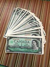 20 canada $1 bills---1967 ---uncirculated