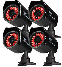 Night Owl CAM-4PK-624 4PK Hi-Resolution 600 TVL Security Cameras