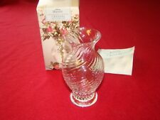Waves Hand Blown Lead Crystal Minature Vase - Boxed - St Michael