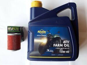 QUAD/ATV Putoline Motoröl 4L Ölfilter Set CFMoto CForce 450 520 550 625 850 1000