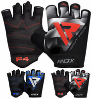RDX Gym Gloves Body Building Weight Lifting Gloves Training Straps Wrist Support