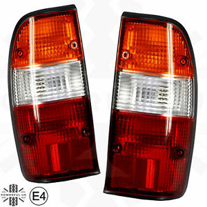 Rear Lights with Looms & Bulbs for Mazda B2500 1998-2002 (Pair) [E Marked]