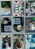 MLB Superstars Rookie RC Hot Pack Lot w/GUARANTEED RELIC AUTO Baseball