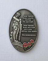 Military Verse Lapel Pin Badge Remembrance Day 10% To Royal British Legion