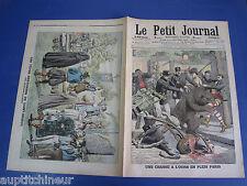 Le petit journal 1906 819 Paris chasse ours Bretagne Saint Brieuc fêtes barde