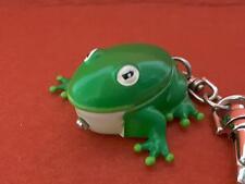 3D Solid FROG Quartz Clip Pocket Watch Key Chain Keychain **