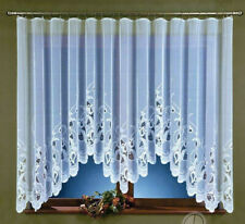 Jardiniere Net Curtain Windows White Interior Home Decoration Decor Panel