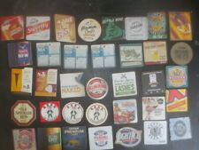 36 different AUSTRALIAN Brewery Issue, BEER & CIDER COASTERS collectable D