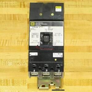 Square D KH36175 Circuit Breaker, 175 Amp, I-Line, Used