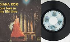 DIANA ROSS disco 45 giri MADE in ITALY One love in my lifetime  STAMPA ITALIANA