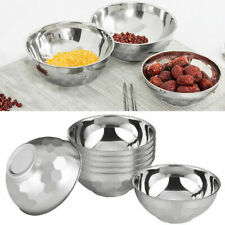 Portable Anti-Rust Stainless Steel Smooth Rolled, edges Resistant Bowl. T N8H4