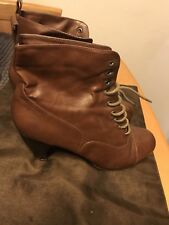womens brown boots size 9