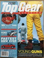 Top Gear Magazine #43 - April 1997 - Ford Puma BMW Z3M Nissan Primera GT