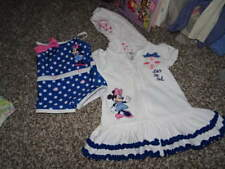 488a7e9252 THE DISNEY BABY STORE 9-12 SWIMSUIT 18-24 COVER-UP MINNIE MOUSE