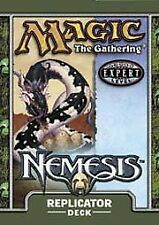 Nemesis Theme Deck Replicator (ENGLISH) FACTORY SEALED BRAND NEW MAGIC ABUGames