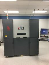 """USED 3D SYSTEMS sPRO 60 SLS 3D PRINTER 2012 15.13.18"""" .003"""" Thickness 240 IPS"""