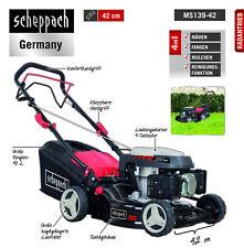 Scheppach Benzin Rasenmäher 4in1 MS139-42 2,6kW 42cm Schnittbreite, 5-Stufen