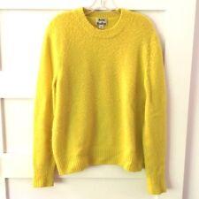 "Acne Studios Yellow ""Peele"" Wool/Cashmere Sweater"