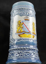 German Ceramic Beer Mug 75th Anniversary R.V. Adler–Buchloe Bavaria Seal Stein