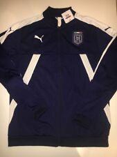 Puma FIGC Italia Stadium Track Jacket Blue XXL NWT
