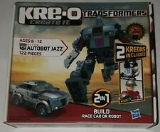 Transformers Kre-O 31146 Autobot Jazz new sealed unopened kreons 122 pieces