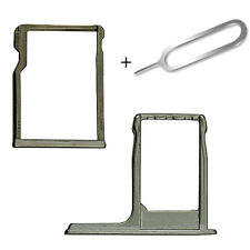 For HTC One M8 Grey Sim and Micro SD Memory Card Tray Slot Holder + Eject Pin