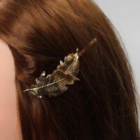 Blatt Haarclip Haarklammer Haarspange Haarschmuck Haar Haarnadel Pin