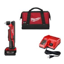 """Milwaukee 2615-21 M18 18V Cordless LITHIUM-ION  3/8"""" Right Angle Drill Kit (2615"""