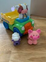 Fisher-Price Push And Go Farm Truck (L6358) Farm animal music sounds & action
