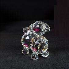 Puppy Dog Crystal Cut & Swarovski Element Inside Base with Gift Box Brand New
