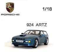 1/18 PremiumX Porsche 924 Turbo Kombi Artz 1981 PR18001 Resin Car Model Rare New