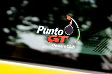 Fiat Punto - GT - Owners Club - Exterior Sticker