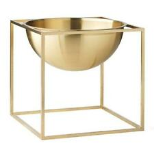 By let Cube Tray Brass, 23cm