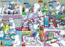 1996 Coca Cola South Pole Vacation Polar Bears 50 card set