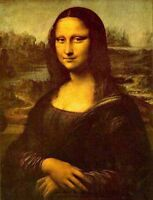 Art oil painting beautiful young woman monalisa-leonardo-da-vinci-Historical 36""