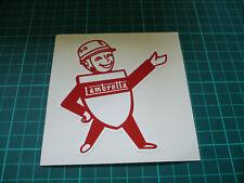 LAMBRETTA MAN Sticker - 100mm
