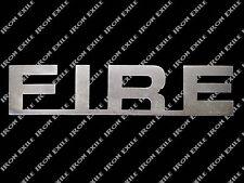 Fire Metal Wall Art Sign Plasma Cut Stencil Firefighter Fireman Rescue Gift Idea