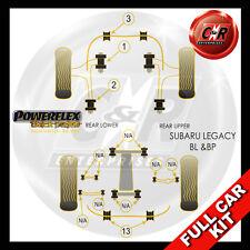 Subaru Legacy BL & BP (03-09) Powerflex Black Complete Bush Kit