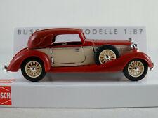 Busch 41320 Horch 853 Cabriolet (1933) in rubinrot/creme 1:87/H0 NEU/OVP
