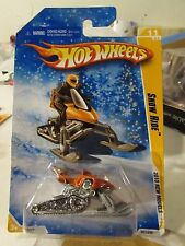 Hot Wheels Snow Ride 2010 New Models Orange Snowflake card