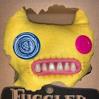 "9"" Fuggler Indecisive Monster Yellow Brand New In Box With Certificate Series 5"