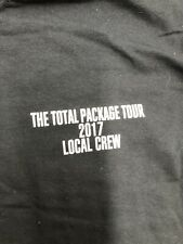 Vintage T Shirt - The Total Package Tour Local Crew Nkotb 2017 Gildan Size Xl