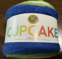 Lion Brand Yarn Cupcake Yarn, Pot of Gold, 590 yds, Light weight (3), Acrylic