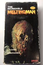 THE INCREDIBLE MELTING MAN VHS 70'S SCI-FI HORROR GORE SLASHER MURDER RICK BAKER