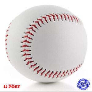 Blank Leather Baseball Wool Yarn Center 9inch Ball Professional Casual Base Ball