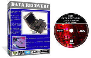 New Ultimate - Any Data Recovery Restore From HDD SSD USB - Pro Software PC CD