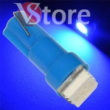 2 LED T5 SMD Azul Lámparas Bombillas Ubicación Para Faros Angel Eyes Cuadrado